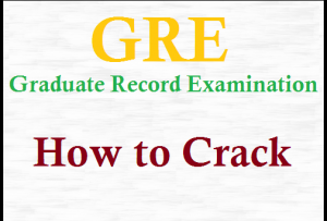 How to Crack GRE in 3 months
