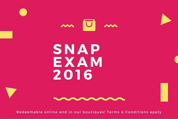 Snap exam 2016