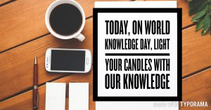 Free career guidance workshop on world knowledge day