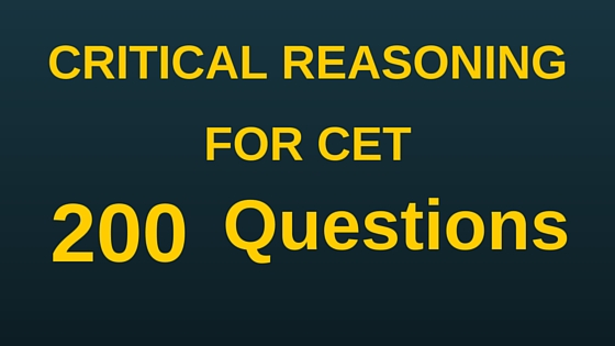 critical reasoning pdf for cet