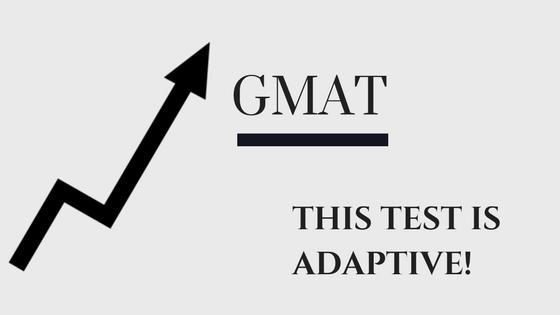 gmat adaptive test mechanism