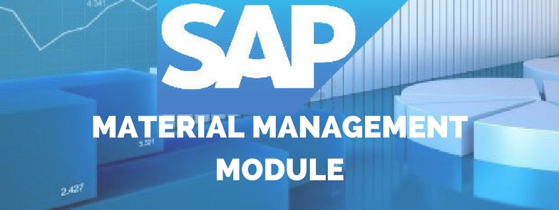 SAP Material Management Module