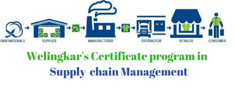 Welingkar's certificate program in Supply Chain Management - CATKing