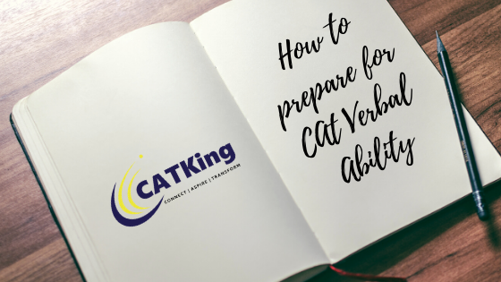 Catking cover how to prepare for verbal ability cat