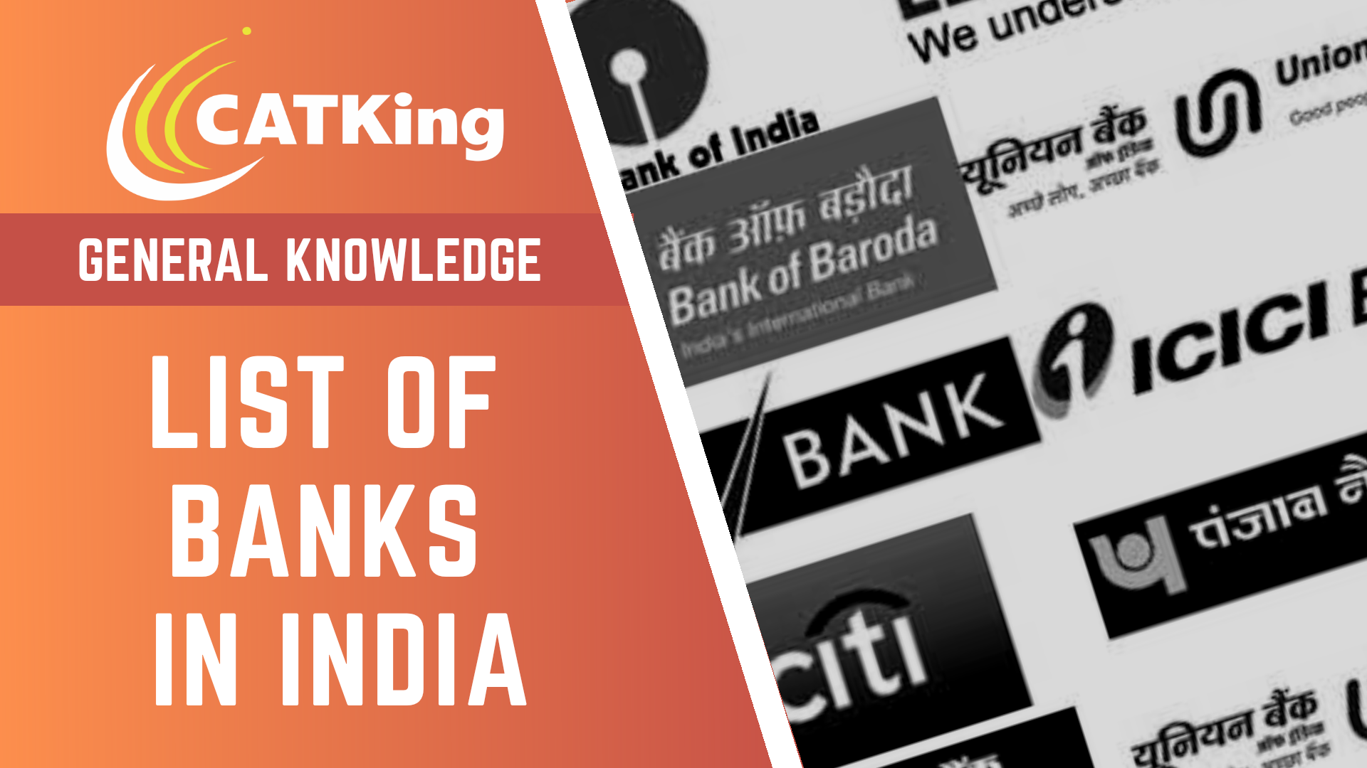 catking cover list of banks in india