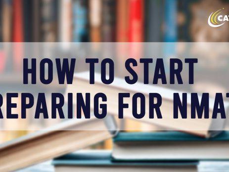 how to start preparing for NMAT