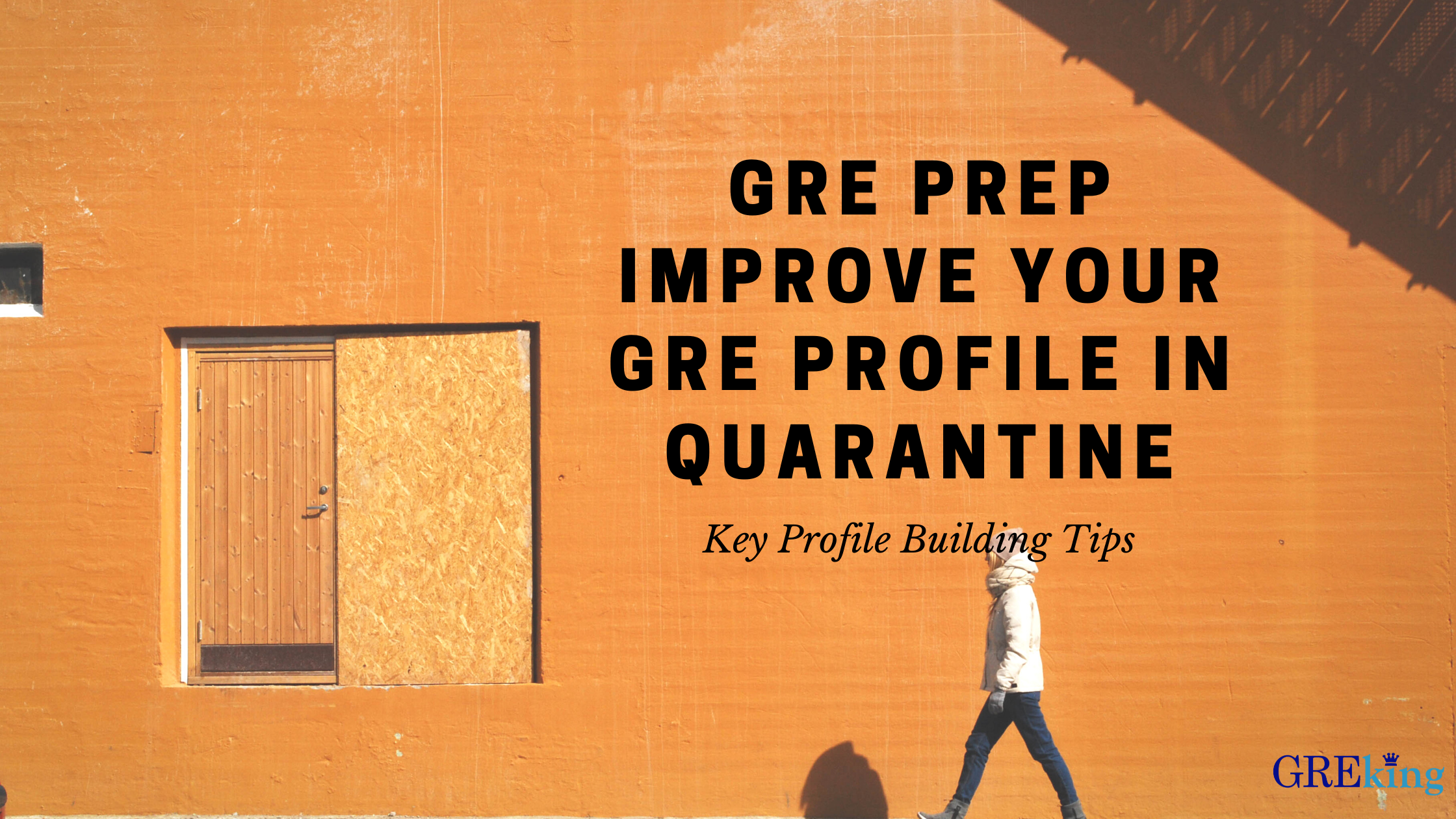 GRE Prep- How to improve your Profile in Quarantine