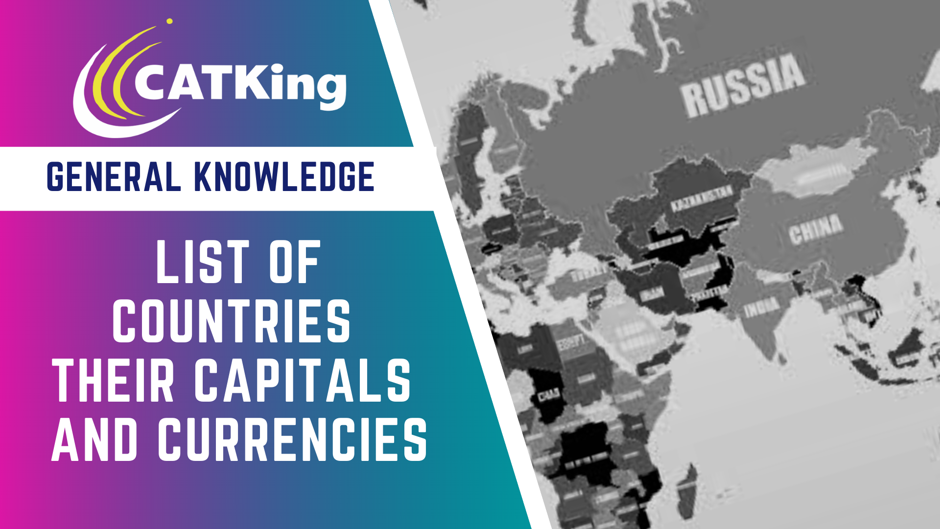 List Of All Countries With Their Capitals And Currencies Catking Educare