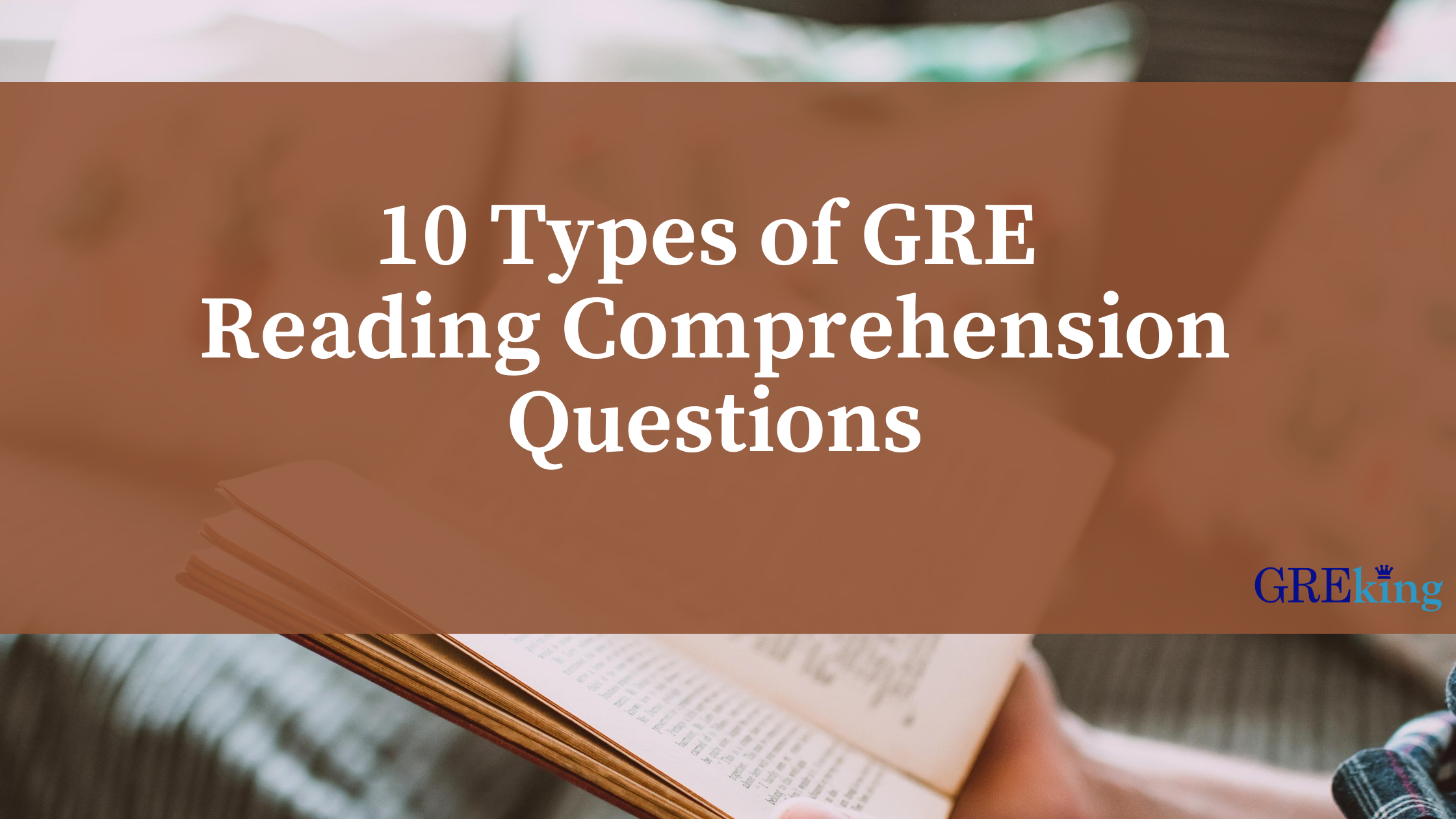 10 types of GRE RC questions