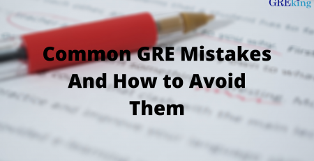 Common GRE mistakes