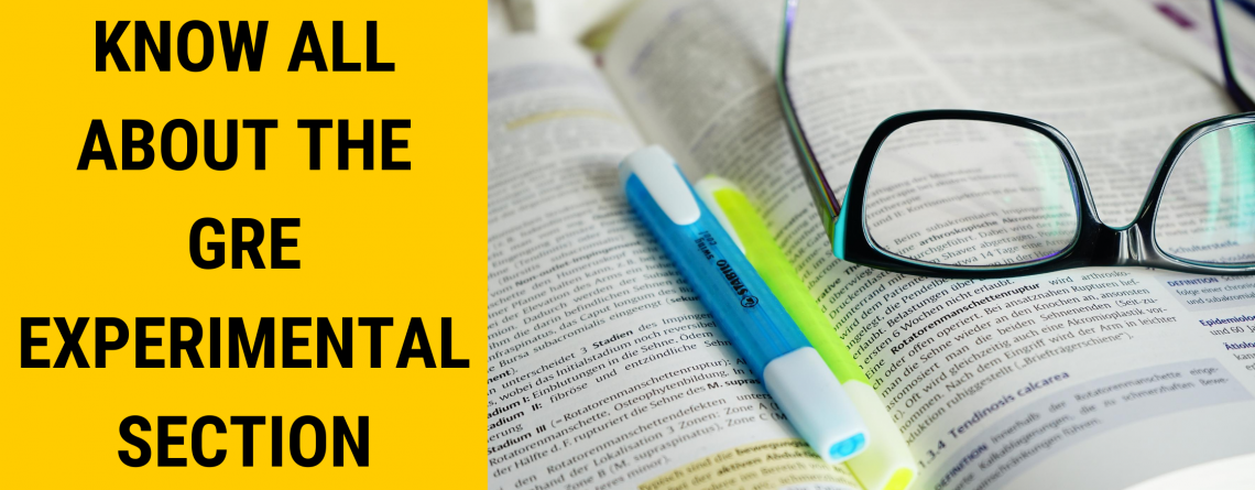 Know All About the GRE Experimental Section